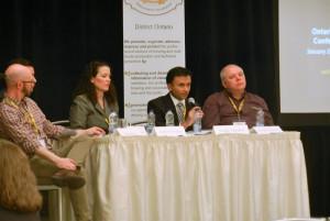 MBAC - 4 panel speakers