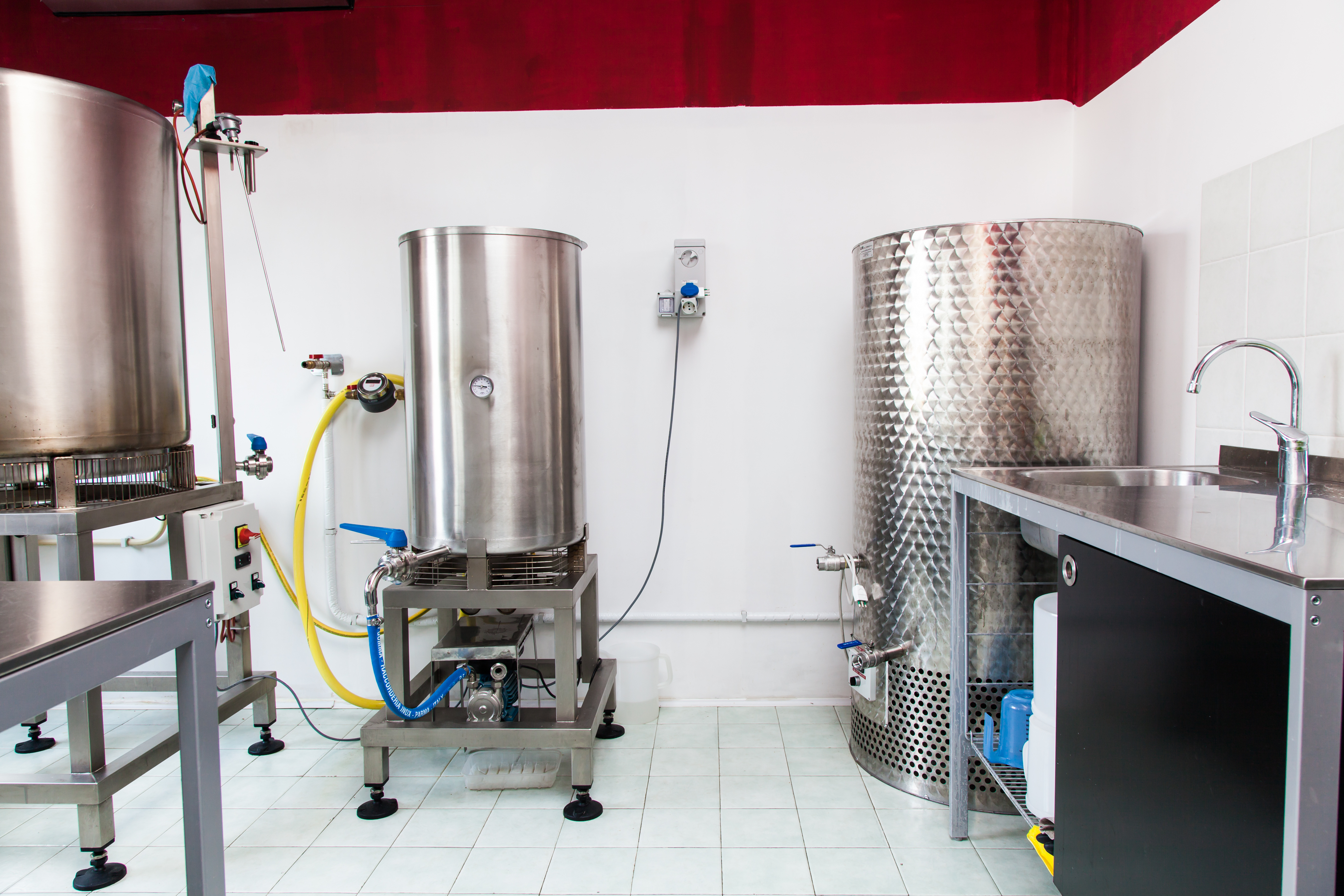 small scale brewery
